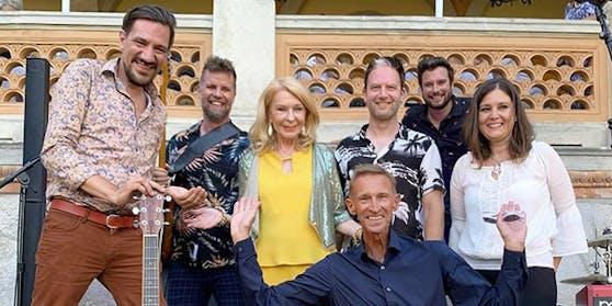 "Band ""Alle Achtung"" mit Gerda Rogers"