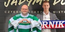 Pfarrer vermittelt Ex-Rapidler zu polnischem Topklub