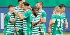 5:0! Rapid zieht souverän in die zweiten Cup-Runde ein