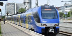 Besoffener Wiener rastet in Zug nach München völlig aus