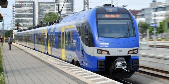 Der Vorfall ereignete sich in einem Meridian-Zug nach München.
