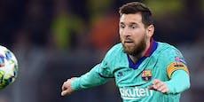 Messi erleidet im Duell mit Barcelona einen Rückschlag
