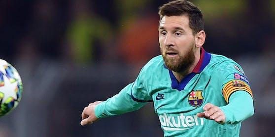 Lionel Messi verweigert das Training.