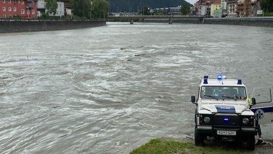Polizeieinsatz nach Leichenfund im Inn bei Kufstein, 29. August 2020
