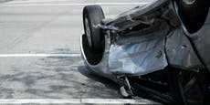 Alko-Fahrer (49) überschlägt sich mit Auto in Döbling