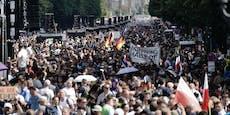 Demo-Chaoten hatten Unterstützung aus Österreich