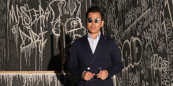 Martin Ho in seiner Pratersauna