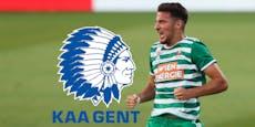Rapid muss in der Champions League nach Gent