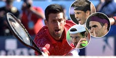 Tennis-Streit: Federer, Nadal und Melzer gegen Djokovic