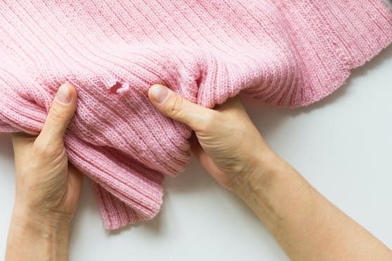 Für die Löcher in unserer Kleidung sind nur selten Motten verantwortlich.