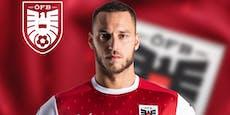 """Österreich kickt ab sofort im """"Arsenal-Trikot"""""""
