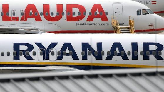 Ryanair ist der Mutterkonzern vonLaudamotion.