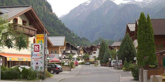 Kaprun mit Blick in die Berge - Symbolfoto.