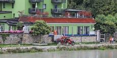 Hochwasser in Schärding: Inn blieb unter Prognosewert