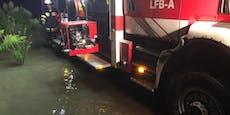 Überflutungen und Muren - Feuerwehren im Dauereinsatz