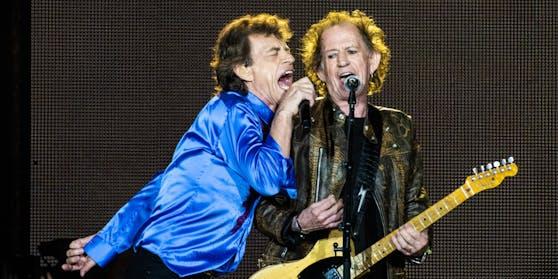 Die Rolling Stones, Mick Jagger und Keith Richards, stehen seit 58 Jahren gemeinsam auf der Bühne.
