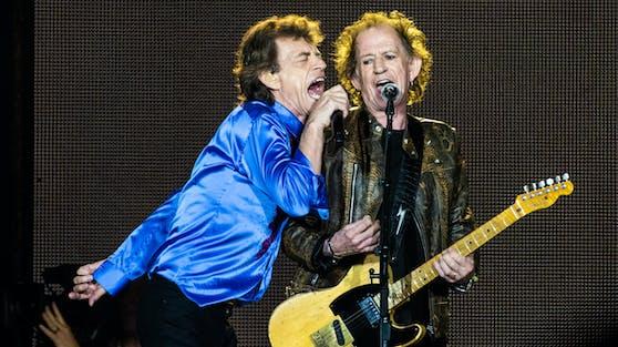 Die Rolling Stones mit Mick Jagger (li.) und Keith Richards wollen es zum 60. Band-Jubiläum wieder richtig krachen lassen.