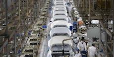 Chinas Industrie verzeichnet große Zunahme