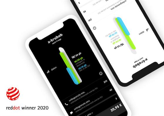 """Die """"mein bobA-App wurde mit dem Red Dot Award 2020 ausgezeichnet."""