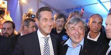 Lugner empört: Keine Unterstützung für Strache
