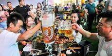 "China feiert trotz Corona-Krise erstes ""Oktoberfest"""