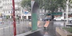 """""""Coole Straßen"""" kühlen nur bei kühlem Wetter"""