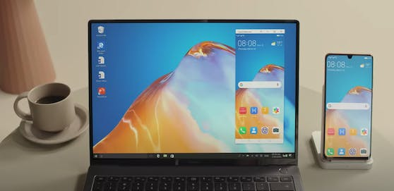 Huawei MateBook X Pro: Multi-Screen Collaboration zwischen dem Smartphone  und dem Notebook