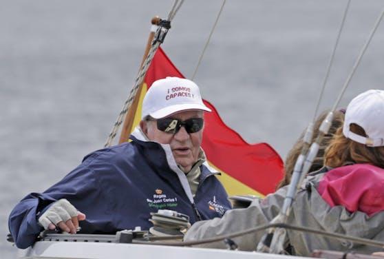 Spaniens Ex-König Juan Carlos: Flucht in die Karibik (Archivfoto)