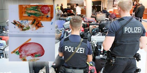 Am Montagmittag kam es am Münchner Flughafen zu einem Polizei-Großeinsatz. Der Grund: Eine Frau hatte das Skelett ihres Ehemanns im Gepäck.