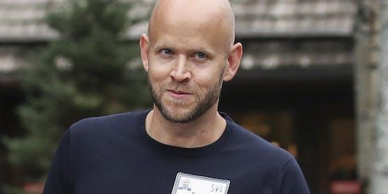 Spotify-Chef Daniel Ek hat den Zorn vieler Musiker auf sich gezogen.