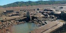 Dürre legt 300 Jahre alte versunkene Stadt frei