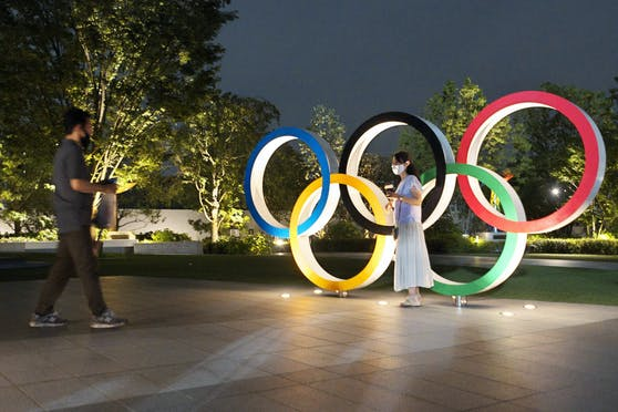 Olympia soll 2021 in Tokio mit Zusehern stattfinden.