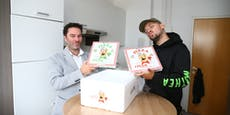 Wieso schickt uns Capital Bra eine Hanf-Pizza ins Büro?