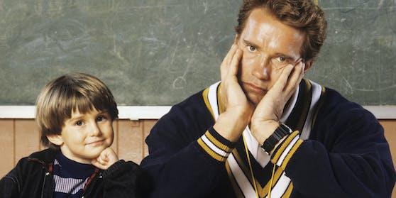 Arnold Schwarzenegger in seiner Rolle als Kindergarten Cop