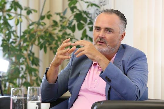 Burgenlands Landeschef Hans Peter Doskozil (SP)