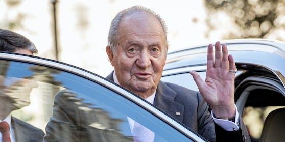 Wohin hat sich der spanische Ex-König Juan Carlos abgesetzt?