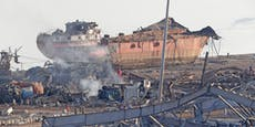 Schiff brachte explosive Substanz nach Beirut