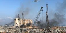Österreicher filmte die Mega-Explosion in Beirut