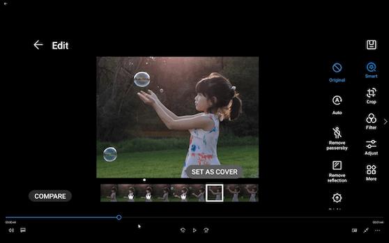 Mit der Huawei Golden Snap Funktion lassen sich aus einfachsten Bildern wahre Kunstwerke erschaffen.