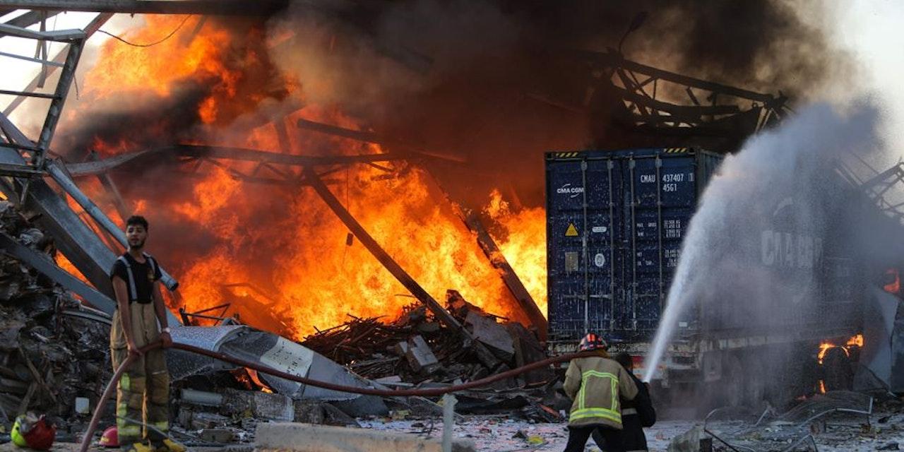 Explosion Heute