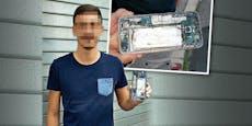 Erste Hilfe für Wiener nach Handy-Explosion