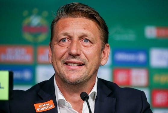Rapid-Geschäftsführer Zoran Barisic.