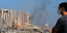 """""""Die Luft ist giftig, verlasst Beirut"""""""
