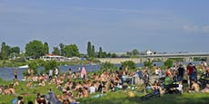 Badeverbot an der Donau trotz Hitzewelle