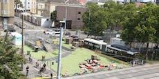 Pool mitten in Wien: Morgen wird am Gürtel geplanscht