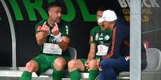 Mattersburg-Ende verlängert Vertrag von Maierhofer