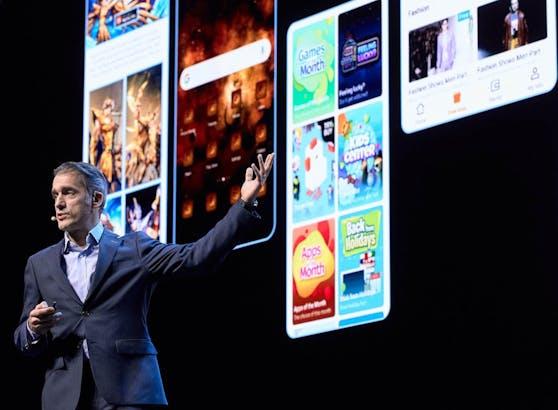 Die Huawei AppGallery bietet laufend neue Games, die Nutzer jederzeit und überall spielen kann.