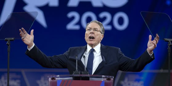 Wayne LaPierre, Vizepräsident und CEO der National Rifle Association.