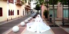 """Braut sagte """"Ja"""", als es zur Beirut-Explosion kam"""