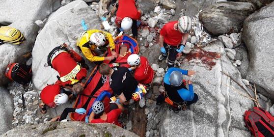 Canyoning Unfall Schwaz